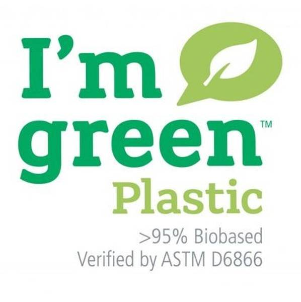 Liten Hinza veske Green plastic Lysblå